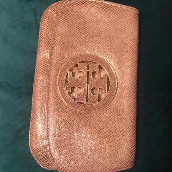 Tory Burch Handbags - Gold Tory Burch clutch